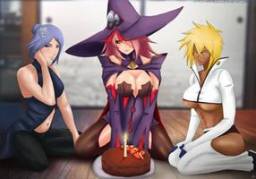 Commission: Happy birthday by Amenoosa