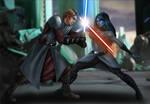 Commission: Anakin vs Sev'rance Tann