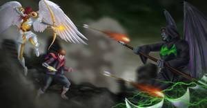 Commission: Andros vs DJ vs Jerome