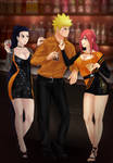 Commission: Naruto x Kin x Tayuya
