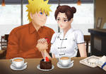 Commission: Naruto x Tenten - birthday