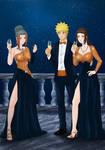 Commission: Naruto x Pakura x Ameno