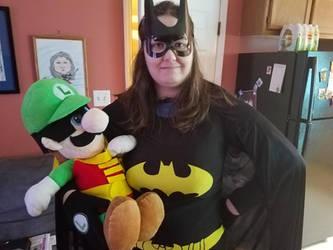 Luigi Boy-A Wonder and Batgirl by PPG-Katelyn