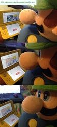 Luigi Reacts to Wario's Paintings by PPG-Katelyn