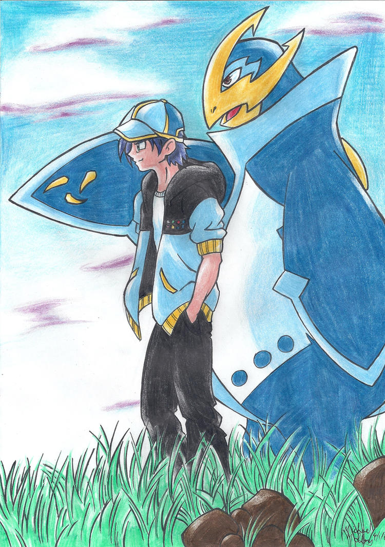 Pokemon: Empoleon by Sunburst-Super-Hero