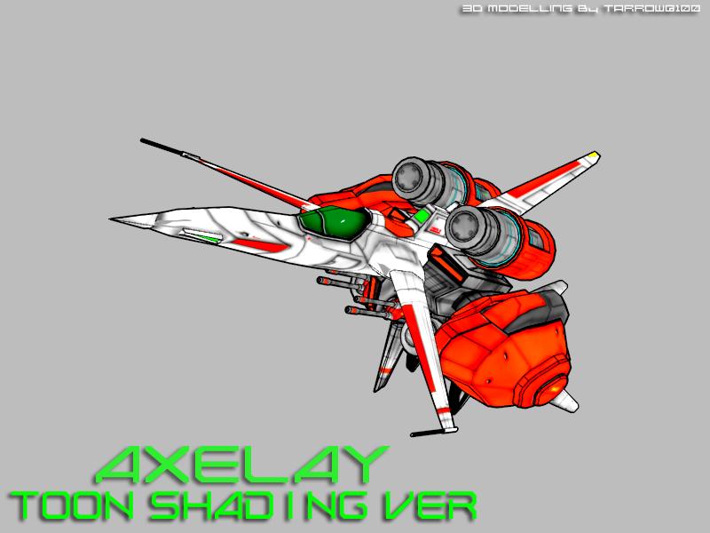 AXELAY Toon Shading Ver by Tarrow100