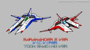 SARAMANDER2 VicVipers ToonShading Ver by Tarrow100
