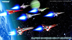 Gradius defense forces