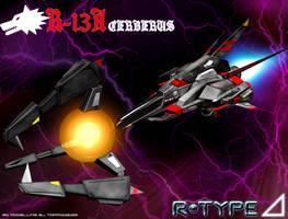 R-TYPE Delta R-13A Cerberus by Tarrow100