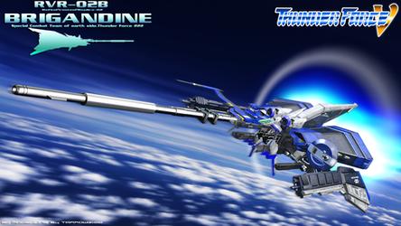 RvR02b Brigandine Rebuild C4D by Tarrow100
