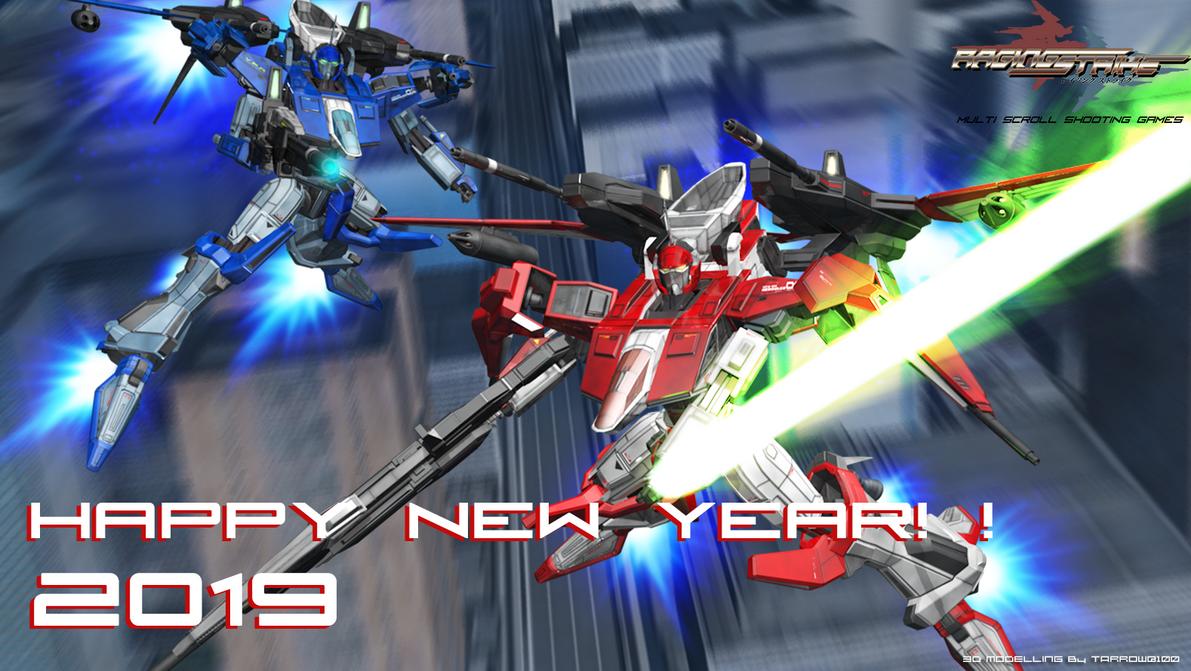 happy New Year! ! 2019 by Tarrow100