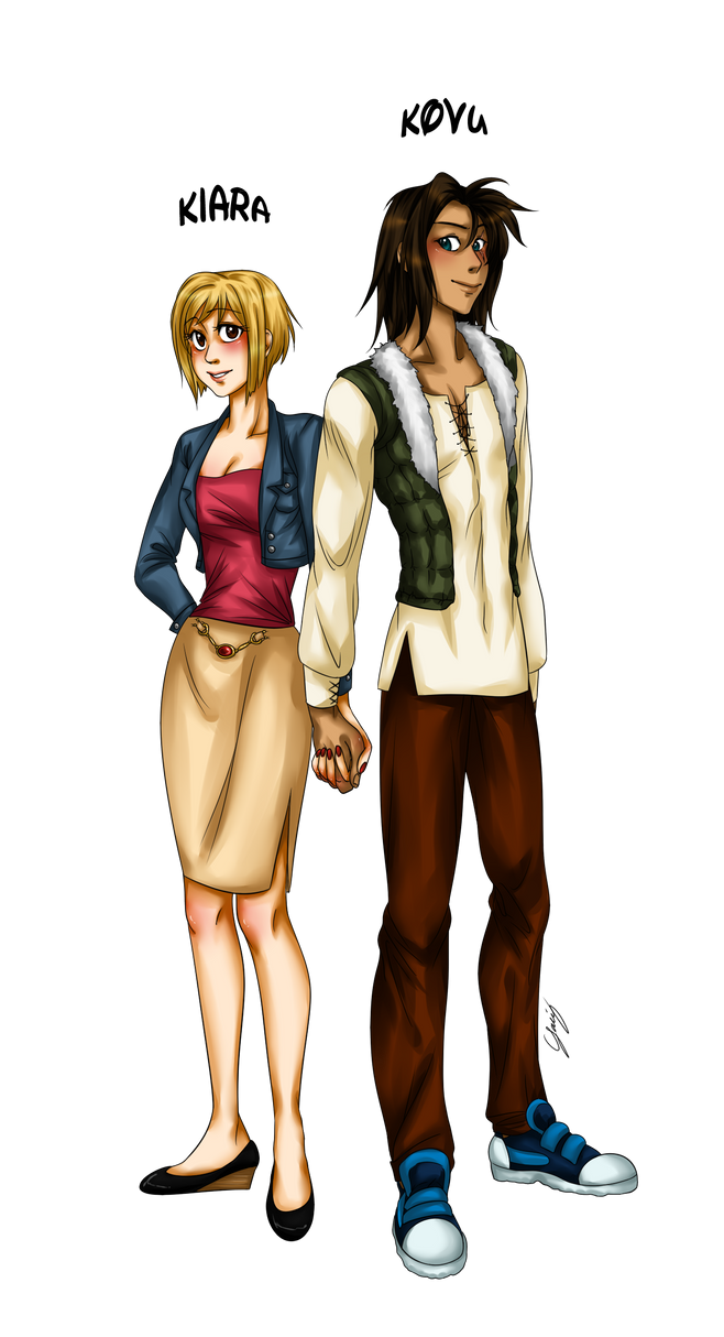Human Kiara and Kovu 2 by x-Lilou-chan-x on DeviantArt
