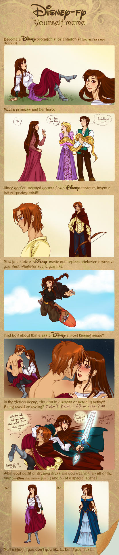 Disney yourself meme by x-Lilou-chan-x