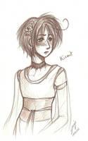 Kismet - Wedding dress by x-Lilou-chan-x