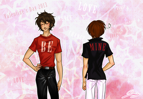 Spamano 2 - Valentine's day 2013 by x-Lilou-chan-x