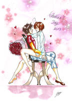 Spamano - Valentine's day 2013 by x-Lilou-chan-x