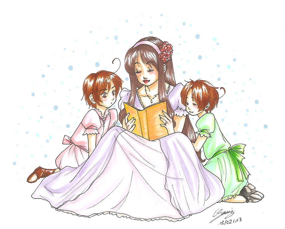 Kismet - Reading together by x-Lilou-chan-x