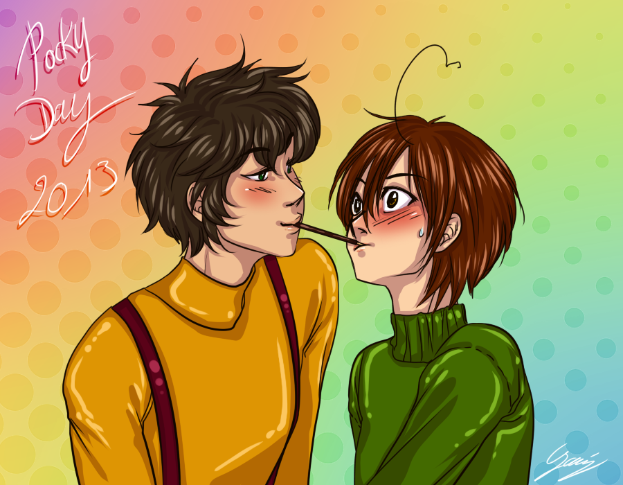 Pocky day 2013 by x-Lilou-chan-x