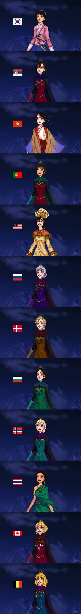Frozen-Hetalia - Let it go - complete2