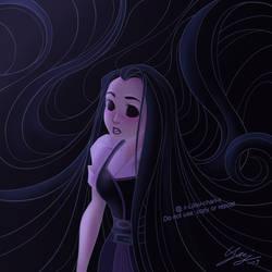 Dark Rapunzel by x-Lilou-chan-x