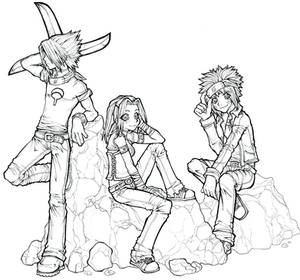 Naruto Trio by ace87x