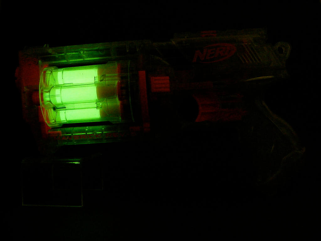NERF Clear MAV6 by nuo2x2