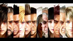 Final Fantasy 15 FF XV All Characters (HD 1080p)