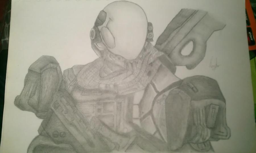 Halo Characters Drawings How to Draw Halo Reach Chara