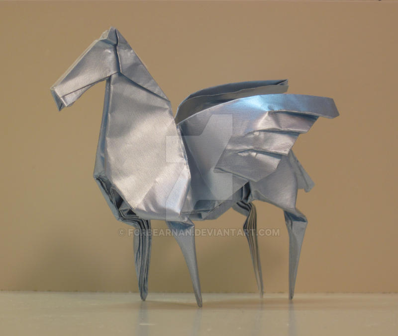 Origami Pegasus By Forbearnan On Deviantart