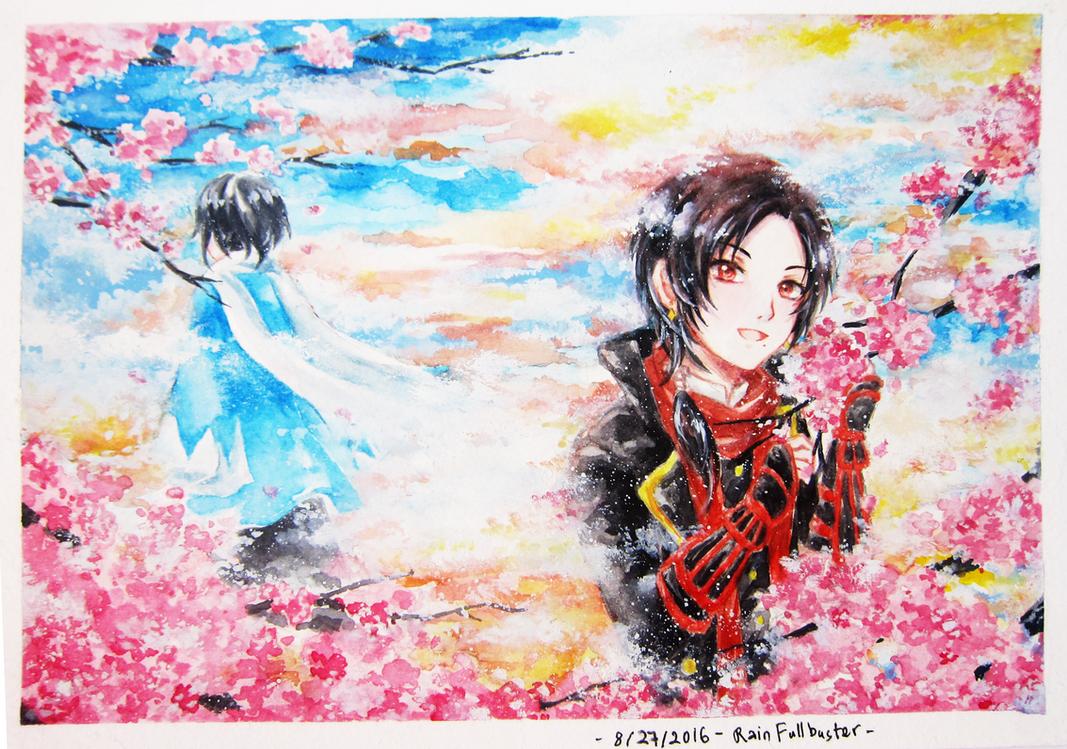 Fan art: Yamatonokami x Kashuu by Thamtuviet4869
