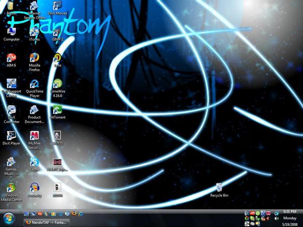 Phanny's Desktop by PhantomInvader