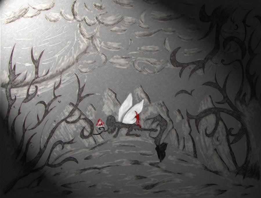 Fairy Part II: Fallen by PhantomInvader
