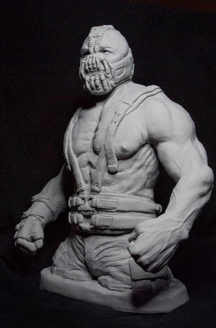 Bane Sculpture Front Angled by Danwhitedesigns