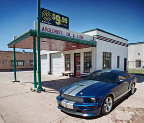 Shelby GT - Route 66 by Danwhitedesigns