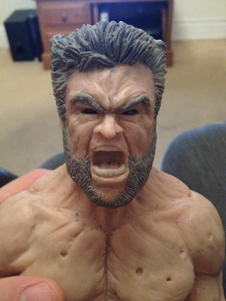 Wolverine Head Update by Danwhitedesigns