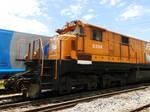 BB36-7 8504 at Canguera yard