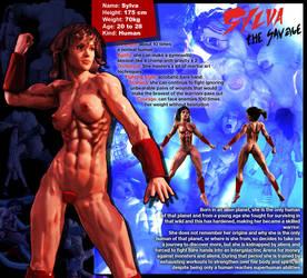 Warrior Girl Sylva the Savage datasheet by SavageSylva