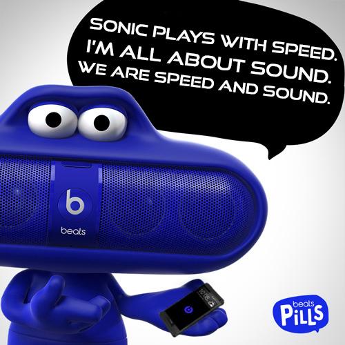Beats Pill - Sonic by PhotonKlass