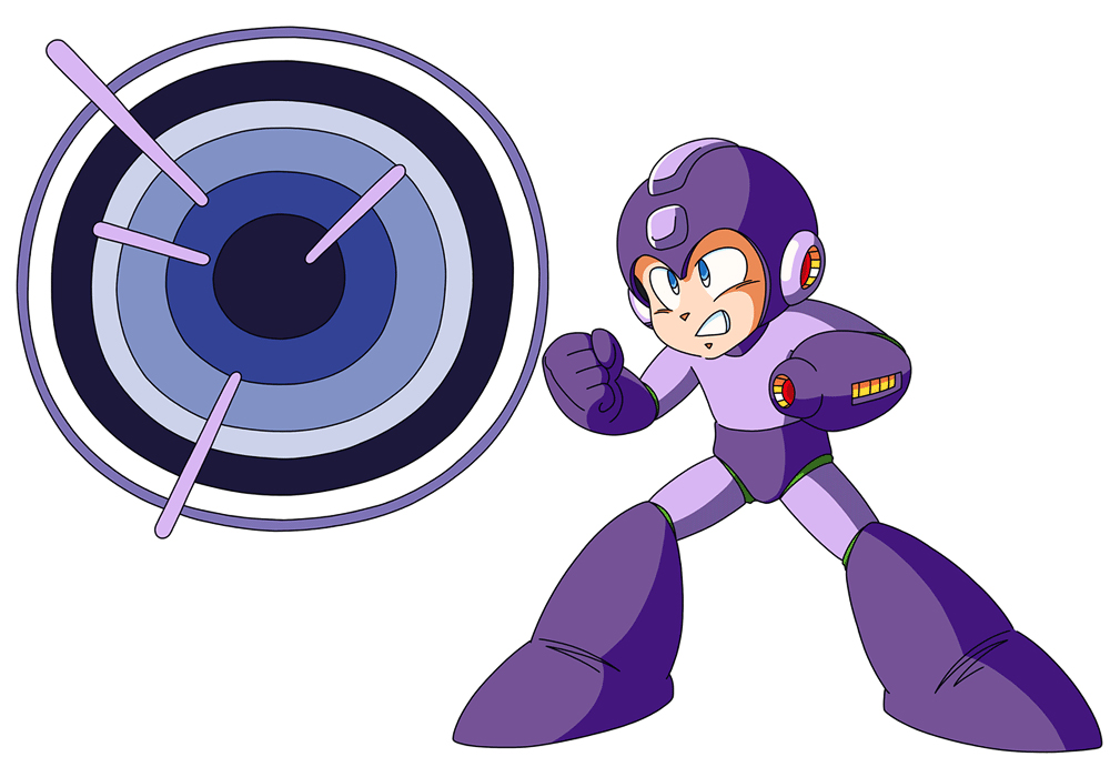 Mega Man Blue Bombs his way into the battle! by ...