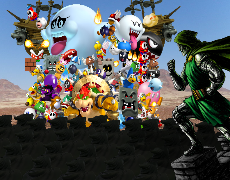 Two Year Anniversary Battle: Bowser VS Dr  Doom!!! by Zacmariozero