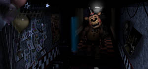 Guess who's back? (Toy Freddy in FNAF1)