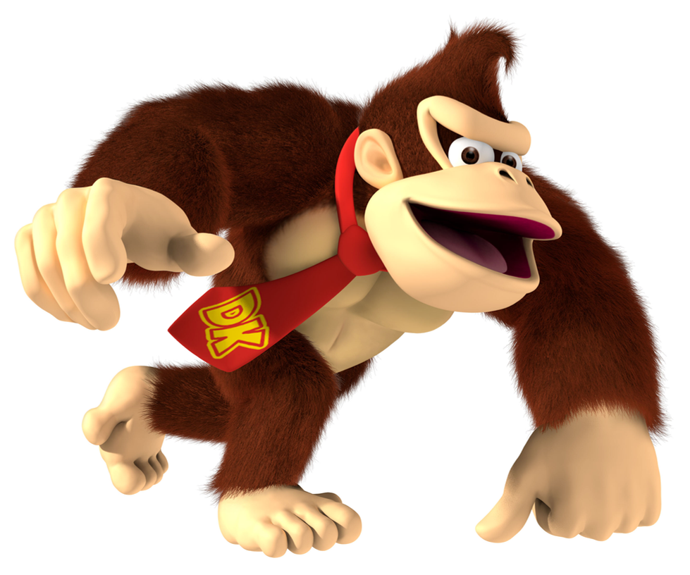 donkey kong banana slammas the competition by zacmariozero on