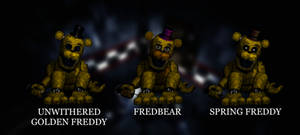 Springlock Golden Freddy + More