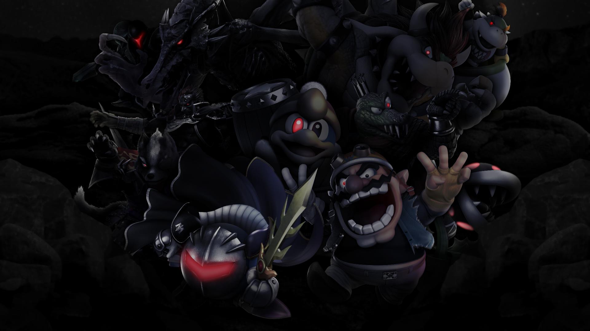 Wallpaper World Of Light Villains By Zacmariozero On Deviantart