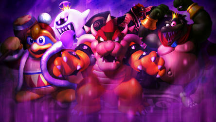 Wallpaper: Kings of Nintendo