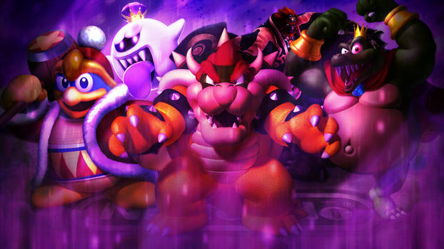 Wallpaper: Kings of Nintendo
