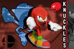 3D Render: Knuckles in Smash
