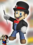 3D Render: All-Stars Mario in Smash