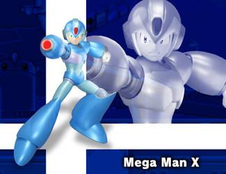3D Render: Mega Man X in Smash