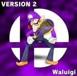3D Render Remake: Waluigi in Smash